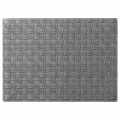 УРДЕНТЛИГ Салфетка под приборы, серый, 46x33 см