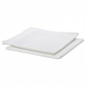 АДРИНЕ Салфетка, белый, 45x45 см