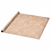 ВИНТЕР 2019 Рулон оберточной бумаги, с рисунком, коричневый, 3x0.7 м