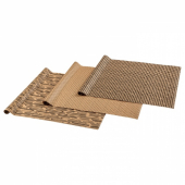 ГИВАНДЕ Рулон оберточной бумаги, естественный, черный, 3x0.7 м