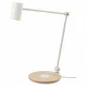 РИГГАД Лампа/устройст д/беспровод зарядки, белый